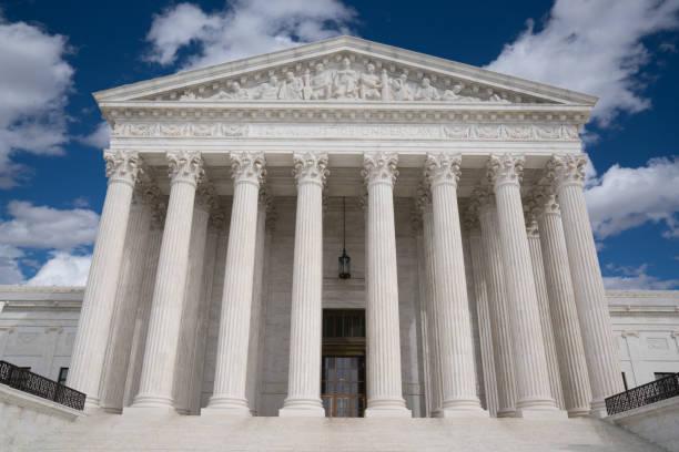 amerika birleşik devletleri yüksek mahkemesi - anayasa mahkemesi stok fotoğraflar ve resimler