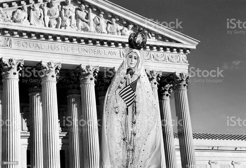 미국 대법원 Court royalty-free 스톡 사진