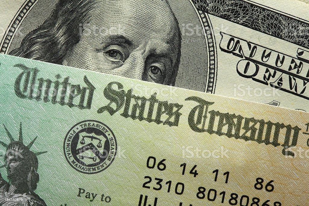 United States Treasury royalty-free stock photo
