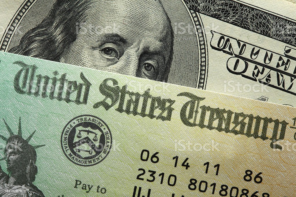 United States Treasury stock photo