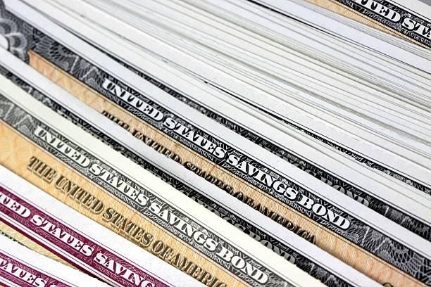 Estados Unidos y de tesorería ahorro de enlaces - foto de stock