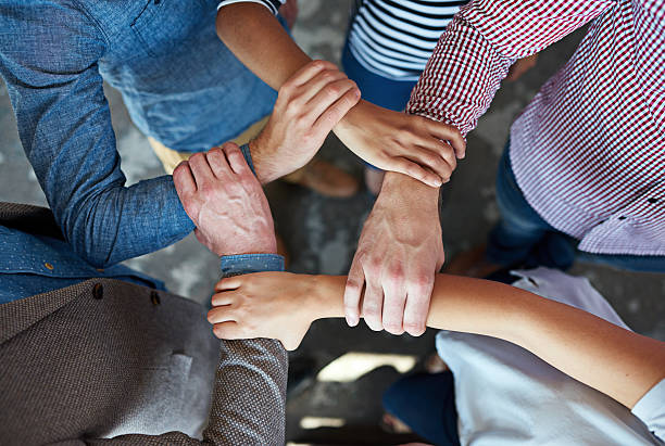 United we stand stock photo