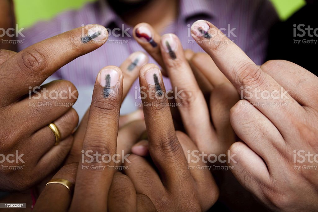 United we Vote stock photo