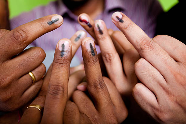 United we Vote stock photo