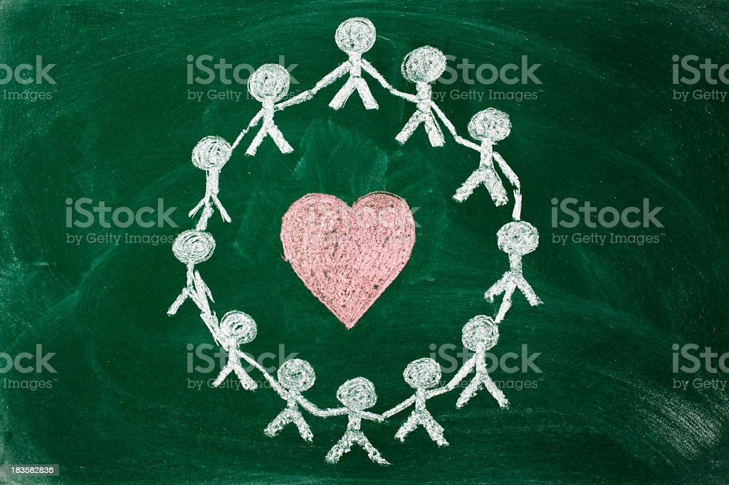 unity and love royalty-free stock photo