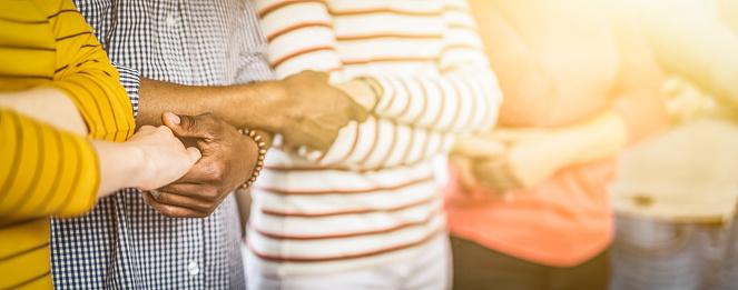 Unity And Teamwork Concept - zdjęcia stockowe i więcej obrazów Afroamerykanin