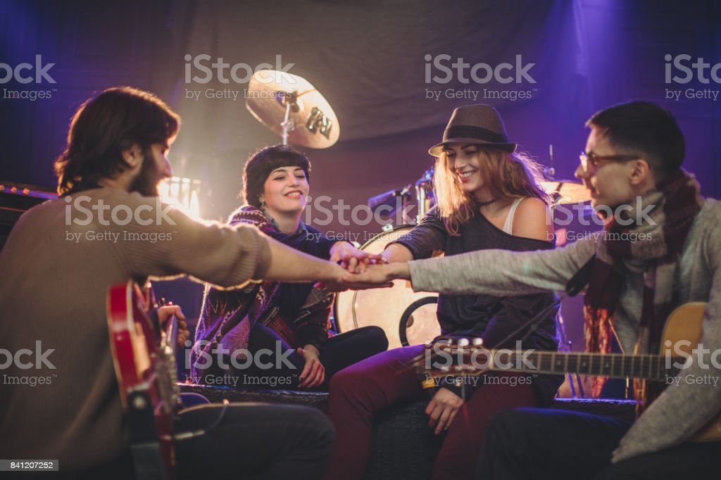 Unity In Music Band Stock Photo - Download Image Now - iStock