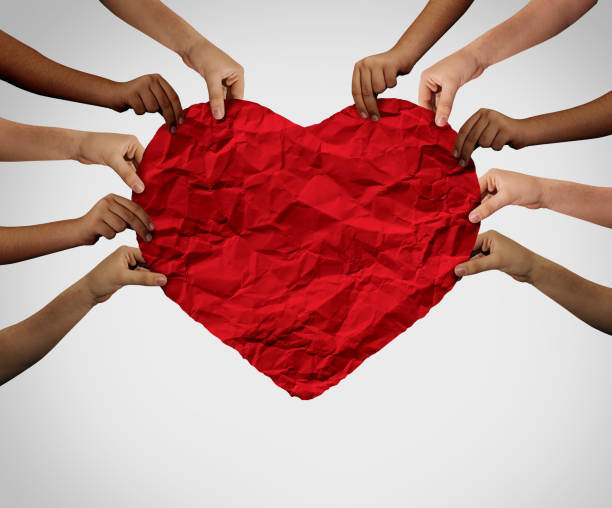 Unity Love Together stock photo