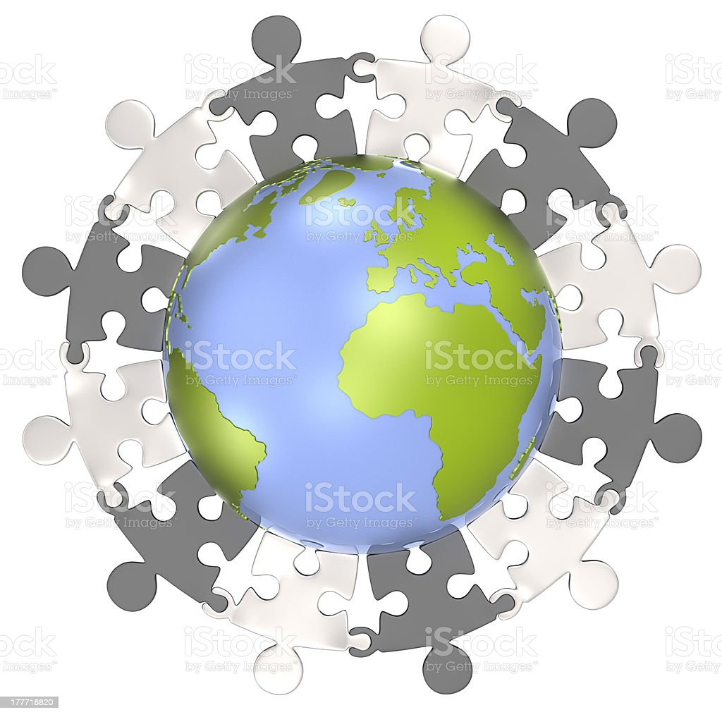 Unity. royalty-free stock photo