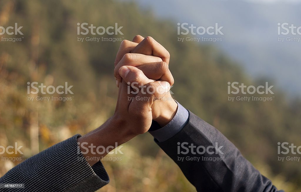 Unity royalty-free stock photo
