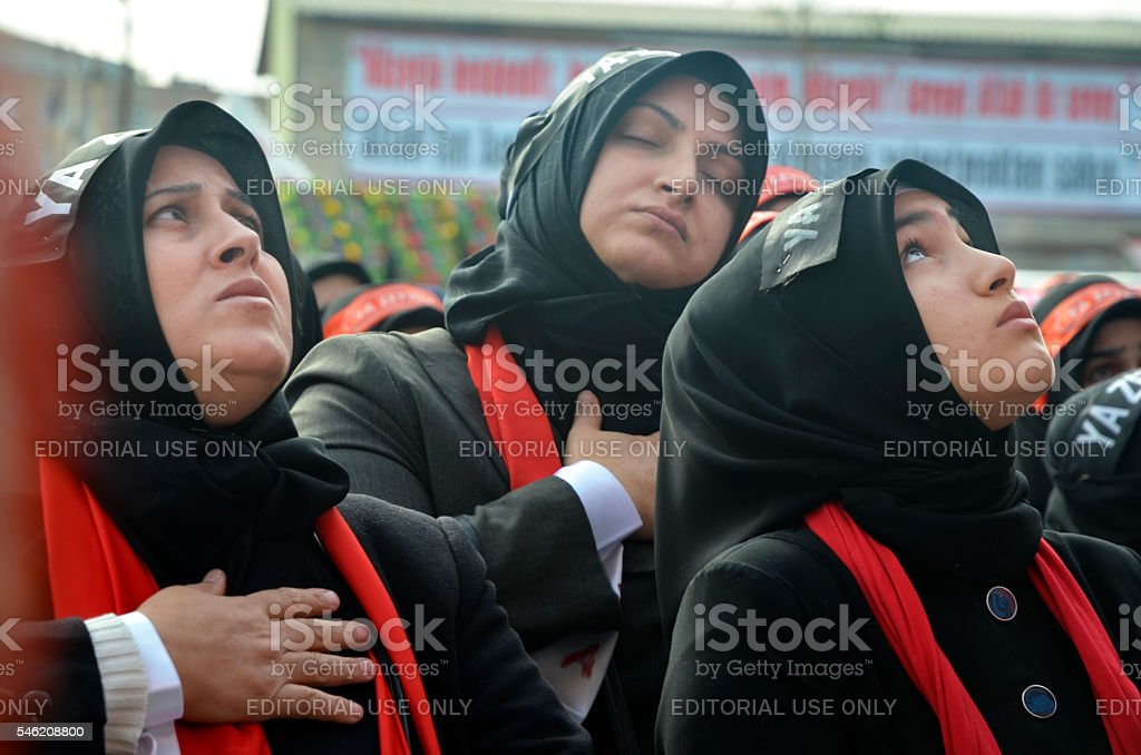 Universal Ashura Mourning Ceremony stock photo