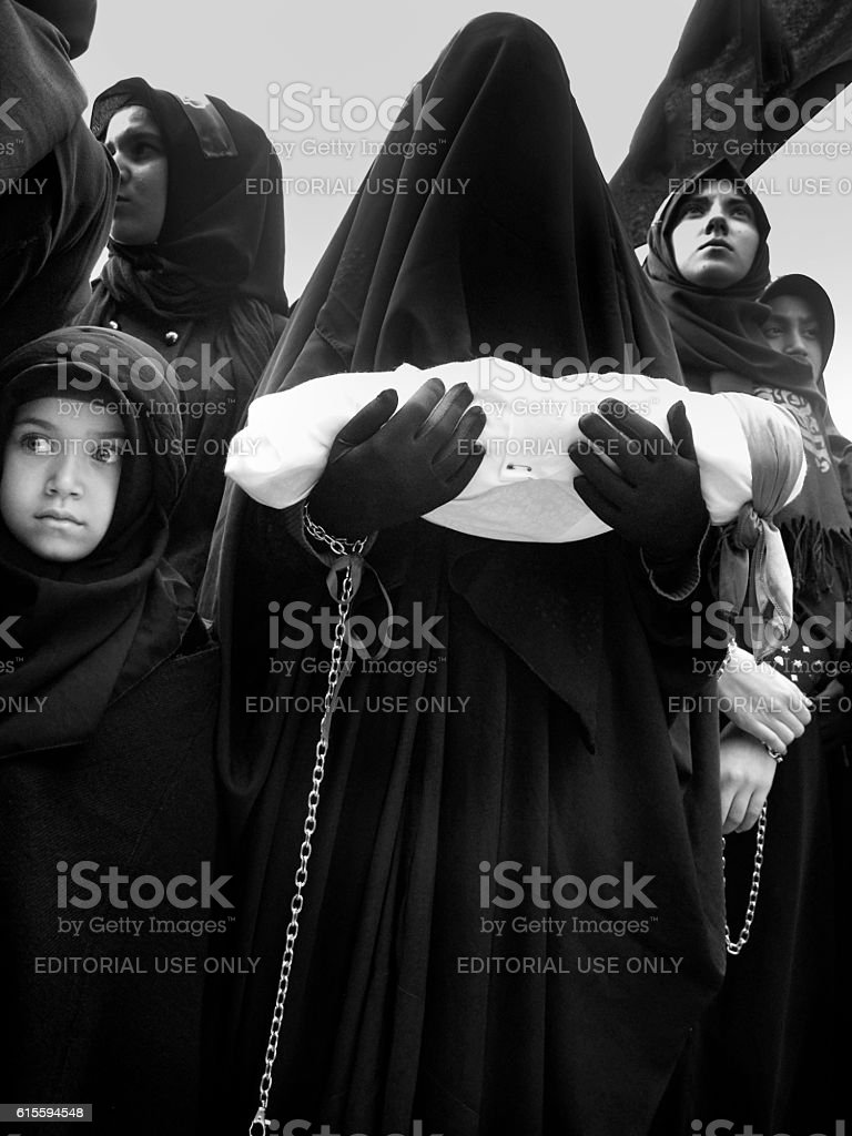 Universal Ashura Mourning stock photo