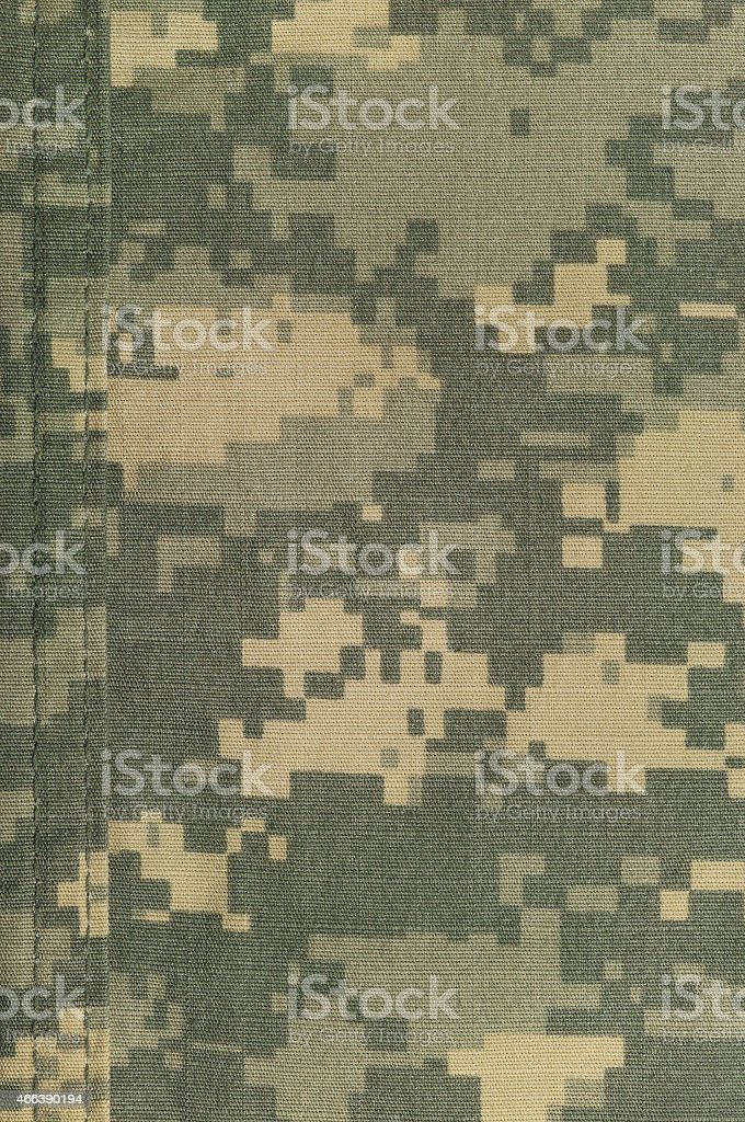 Universal camouflage pattern, army combat uniform digital ACU camo texture stock photo