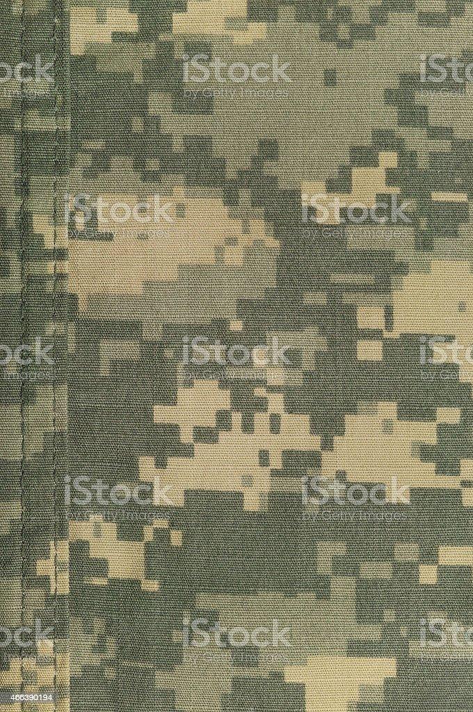 Universal camouflage pattern, army combat uniform digital ACU camo texture stock photo
