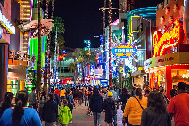 universal citywalk hollywood - orlando florida photos stock photos and pictures