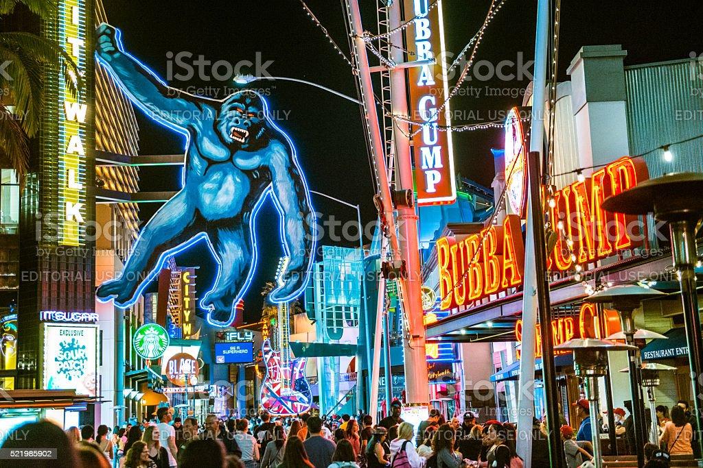 Universal CityWalk Hollywood stock photo