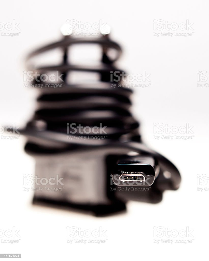 Universal mobile charger royalty-free stock photo