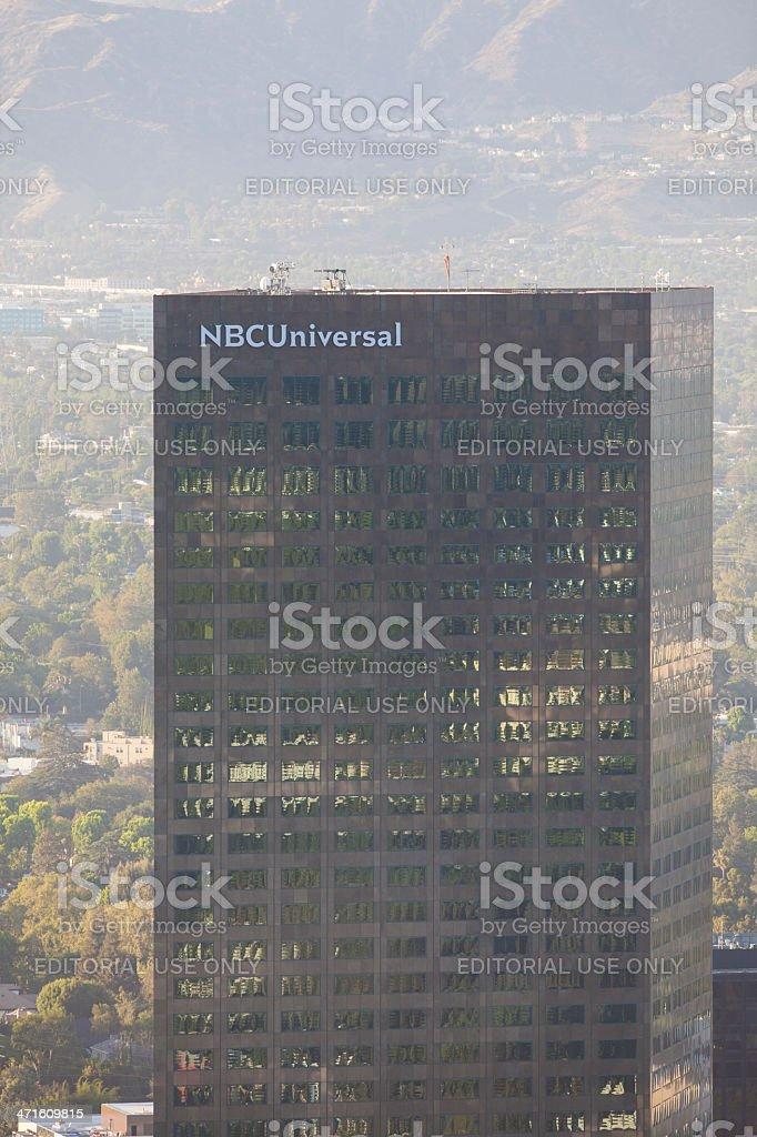 NBC Universal royalty-free stock photo