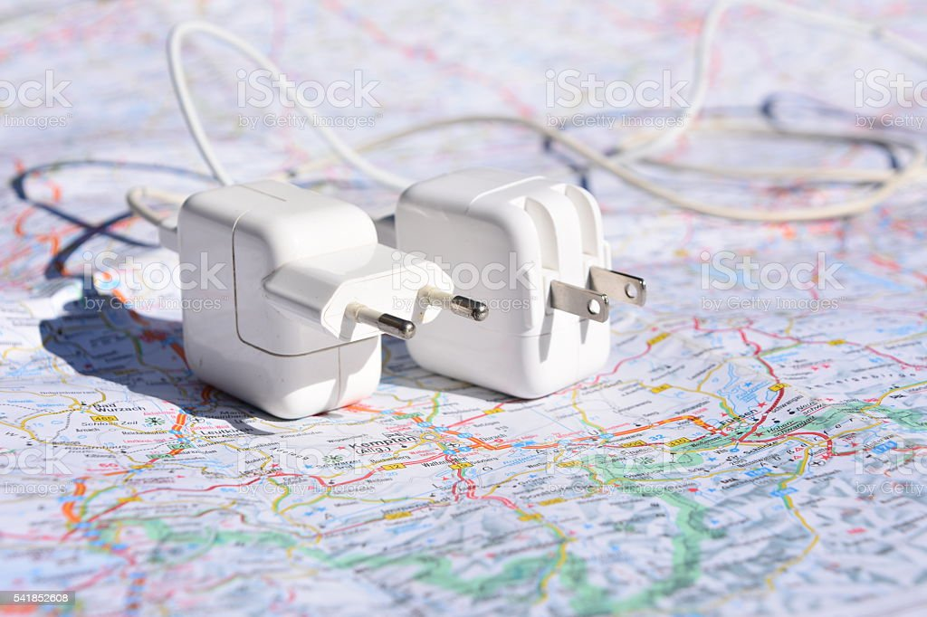 Universal Power Charger Concept stock photo