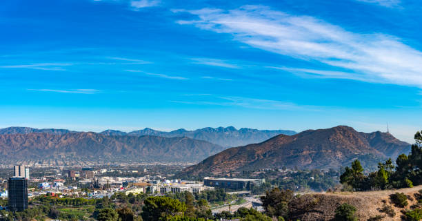 universal studios hollywood in  los angeles  california  usa - san fernando valley stock photos and pictures