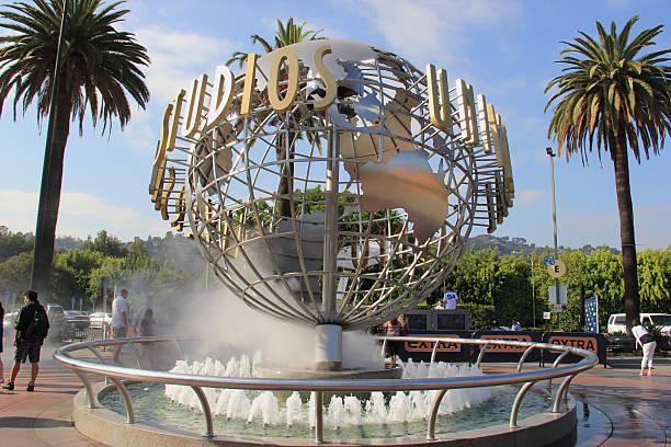 universal studios hollywood - universum city kinos stock-fotos und bilder