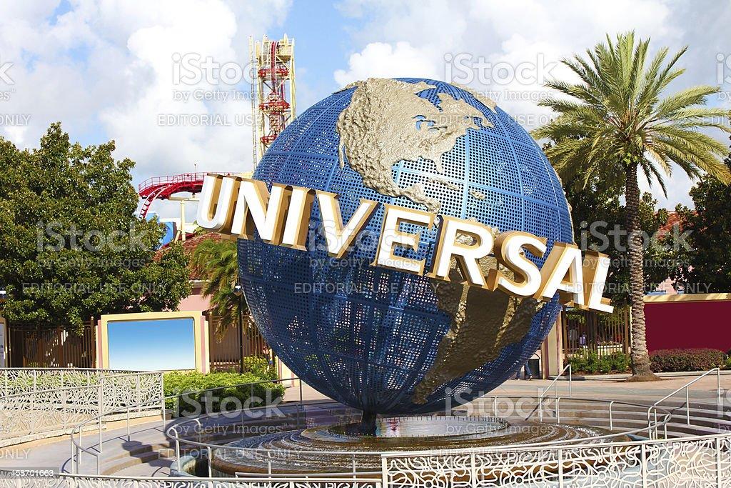 Universal Studios Orlando Theme Park royalty-free stock photo