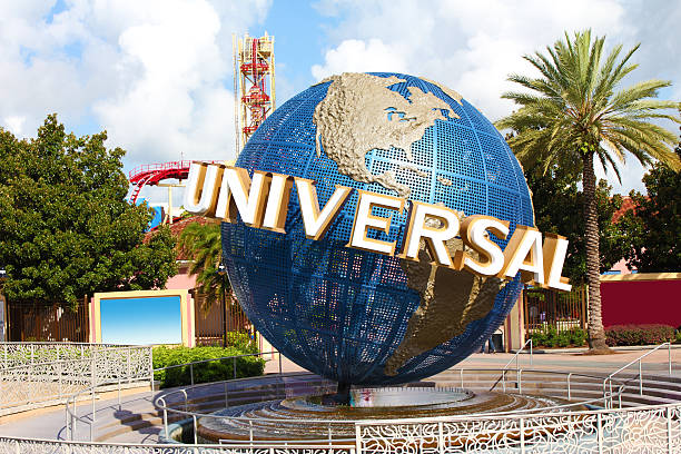 universal studios orlando theme park - orlando florida photos stock photos and pictures