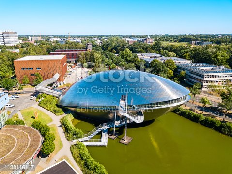 BREMEN, GERMANY - JULY 06, 2018: The Universum Bremen is a science museum in Bremen city, Germany