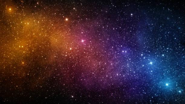 universum voller sterne, nebel und galaxie. elemente des bildes von der nasa eingerichtet. - sternhaufen stock-fotos und bilder