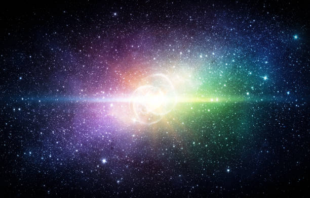 universum voller sterne, nebel und galaxie. - sternhaufen stock-fotos und bilder