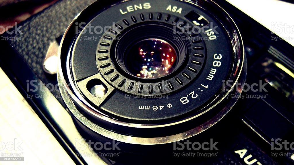 Universo de sus ojos - foto de stock