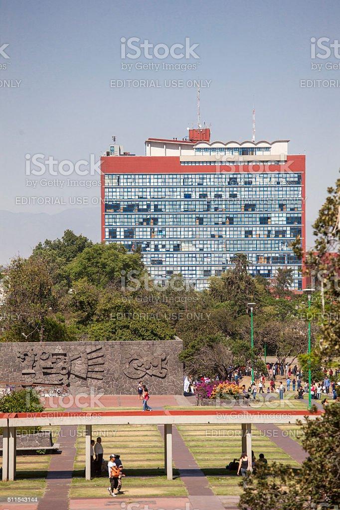 UNAM, Universidad Autonoma de Mexico stock photo