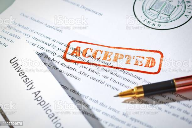 University application acceptance letter still life with rubber stamp picture id1125504678?b=1&k=6&m=1125504678&s=612x612&h=3am16iqft3b7fgj1 8ah rpo4ahohqnvdxvq 8acfza=