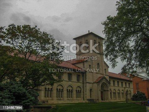 istock University building in Oberlin Ohio 1134867994