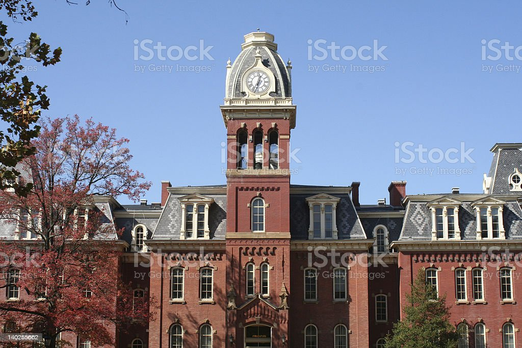 University Building stock photo