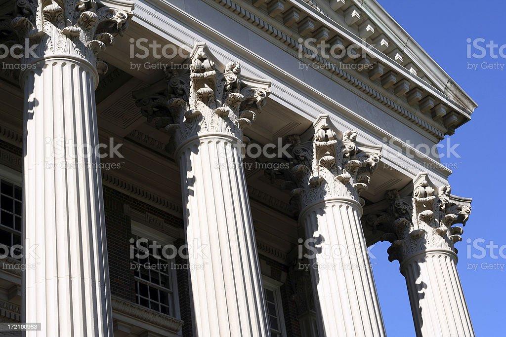 University Building royalty-free stock photo