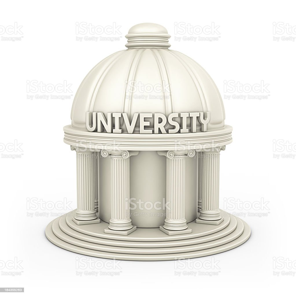 university building royalty-free stock photo