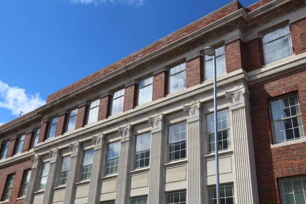 University Campus Barnsley stock photo