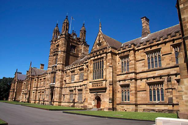 University campus der historischen Gebäude – Foto