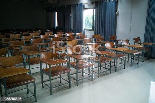 881192038istockphoto University classroom 1038286516
