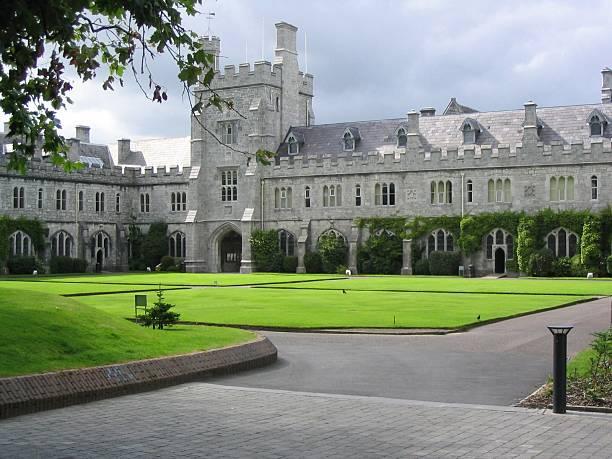 UCC, University College Cork City, Ireland stock photo