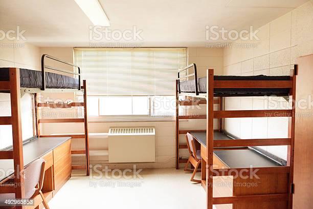 University college dorm room with bunkbeds empty unoccupied student picture id492965853?b=1&k=6&m=492965853&s=612x612&h=yatmggy6uftgddbpw9bhl0de7djz1e1rxm0yc1y0qz8=