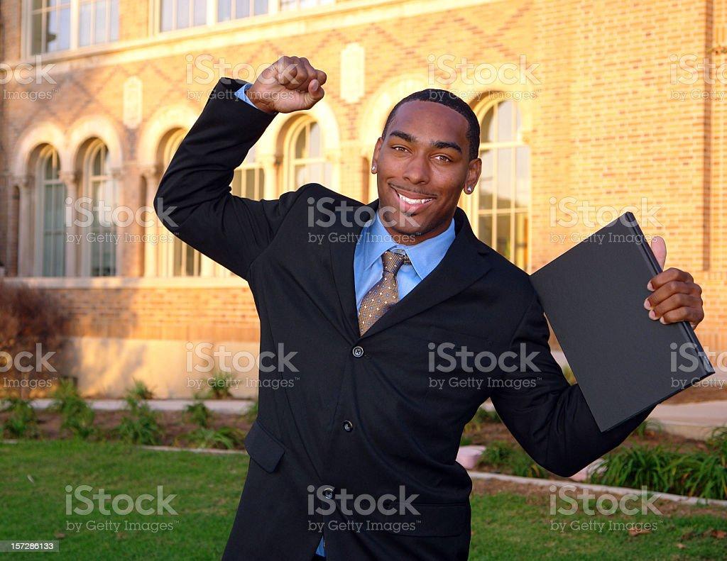 University Diploma stock photo