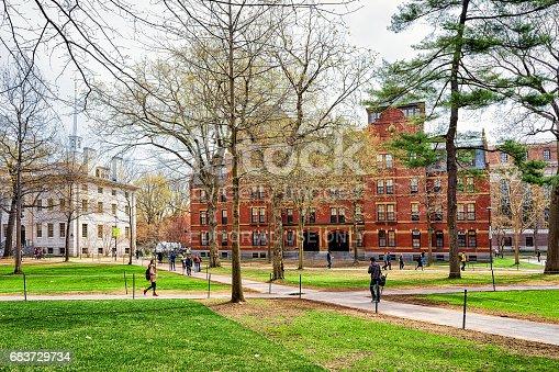 683709204istockphoto University Hall and Harvard Computer Society in Harvard Yard 683729734
