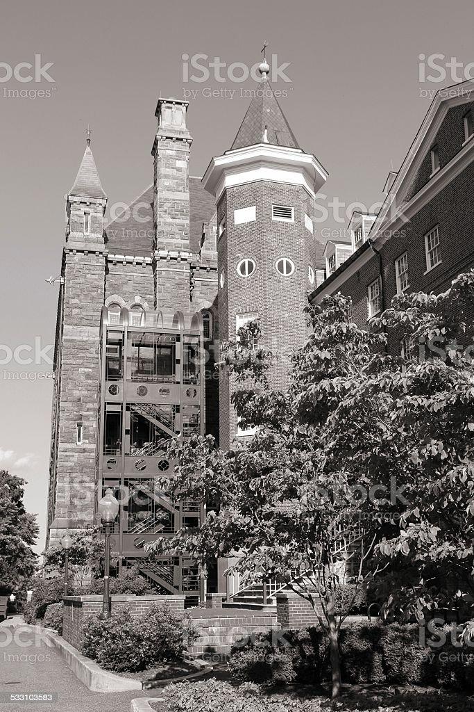 University in Washington DC stock photo