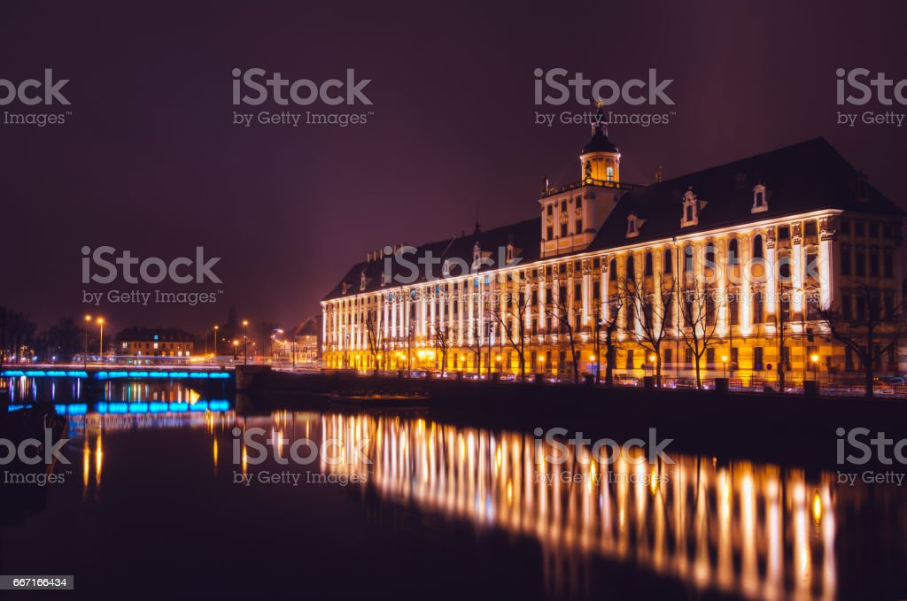 University in Wroclaw Poland, Europe stock photo