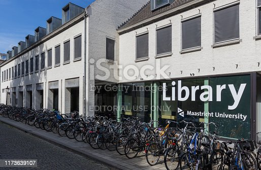 istock University library in downtown Maastricht on a September morning 1173639107