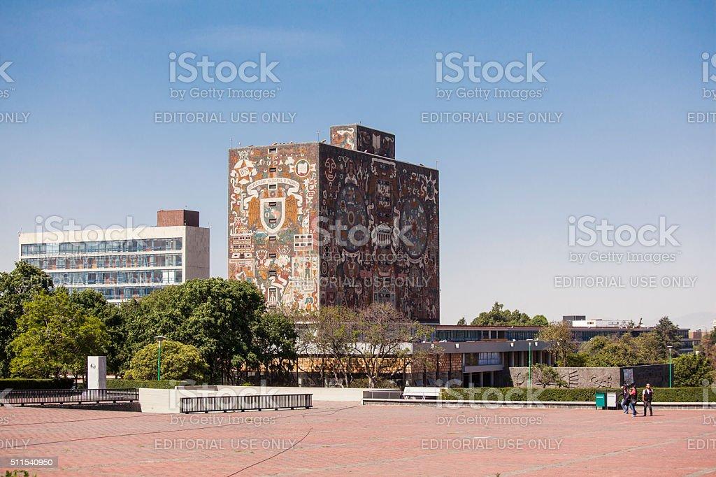 UNAM University Library stock photo