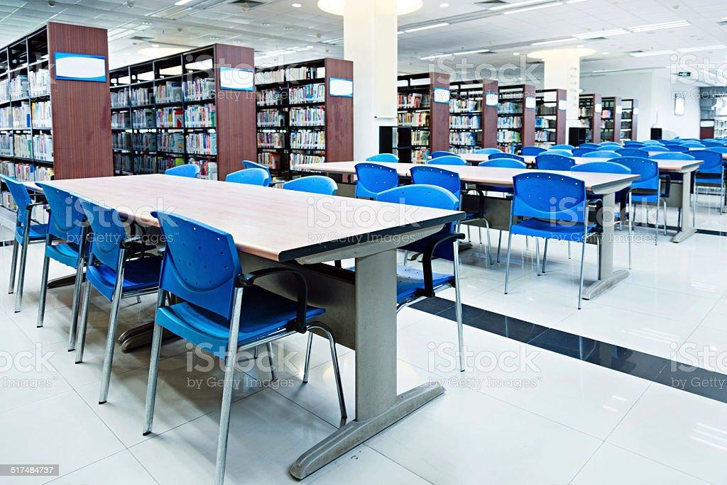 University library stock photo