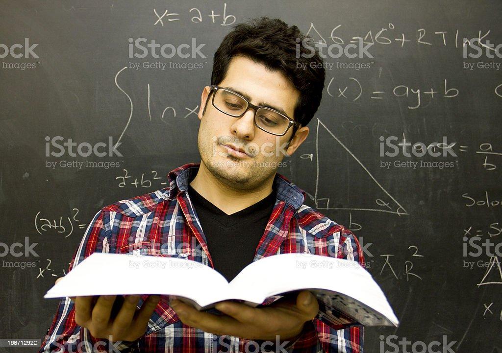 University maths lesson royalty-free stock photo